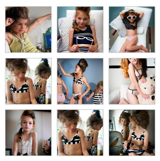 sexualization of children in advertising