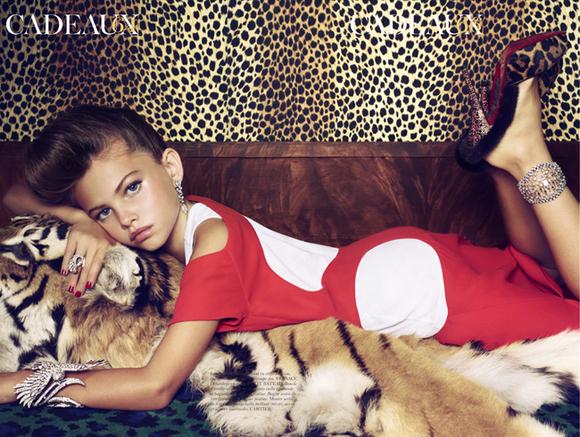 Sexualization of children Thylane Blondeau