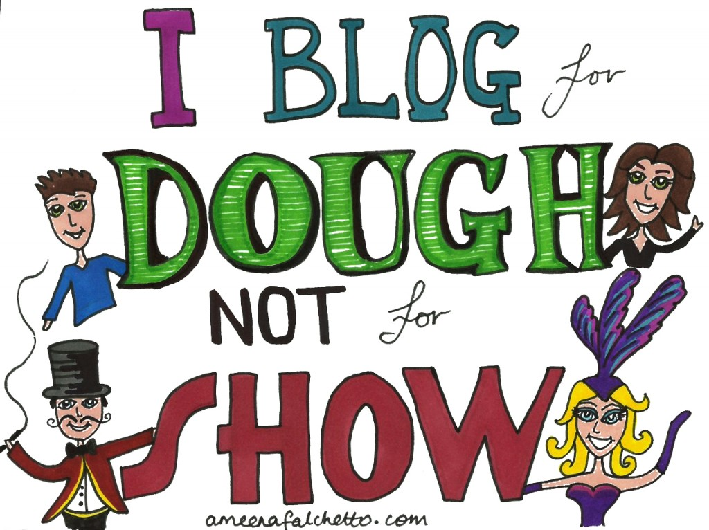 blog for dough not for show - ameena falchetto