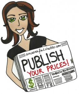 publish your prices online